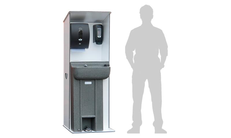 Warwick Handwash Display Station