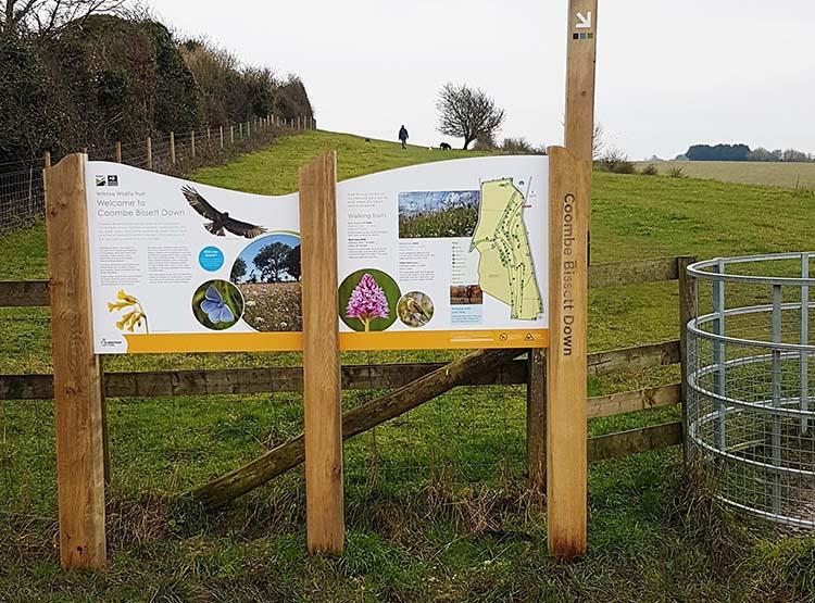 Wiltshire Wildlife Trust Coombe Bissett Down 1