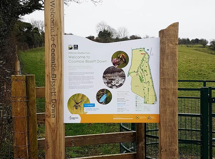 Wiltshire Wildlife Trust Coombe Bissett Down 7