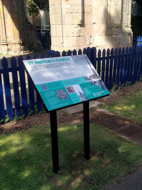 St Andrews Church Sign