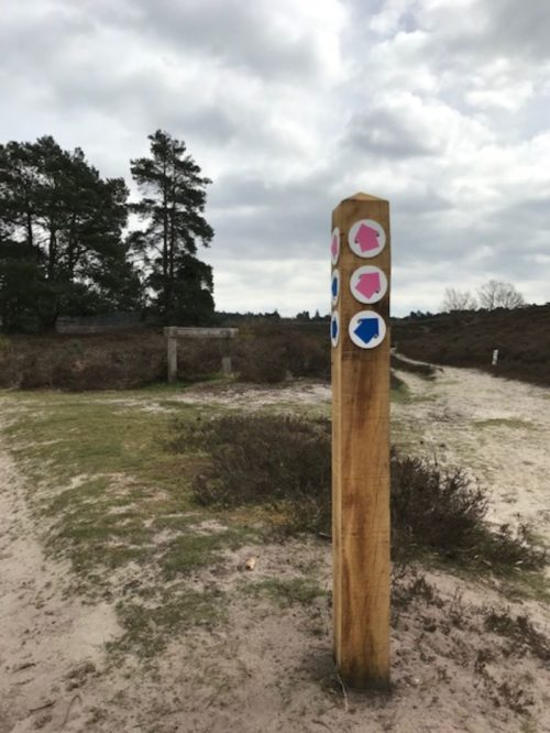 Waymarker post 1 1