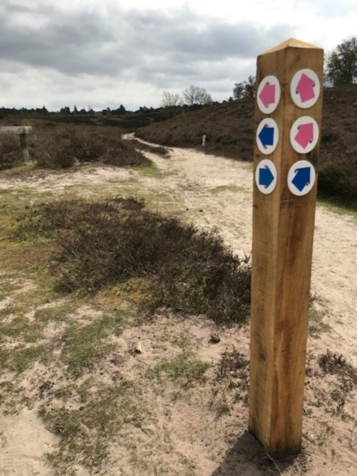 Waymarker post 2 1