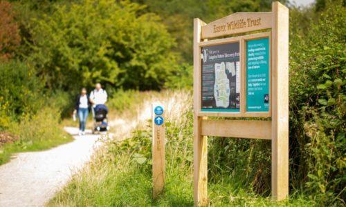 Essex Wildlife Trust Signage