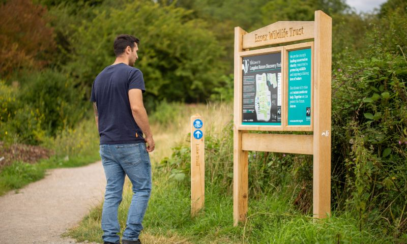 Essex Wildlife Trust Signage 2